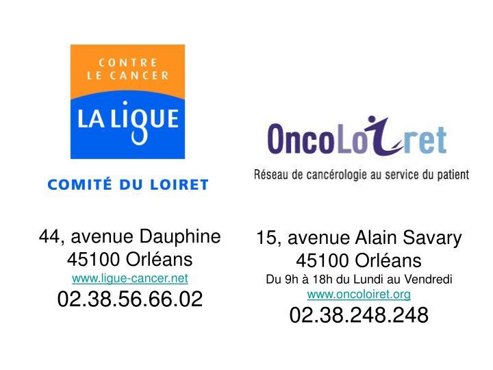 44, avenue Dauphine