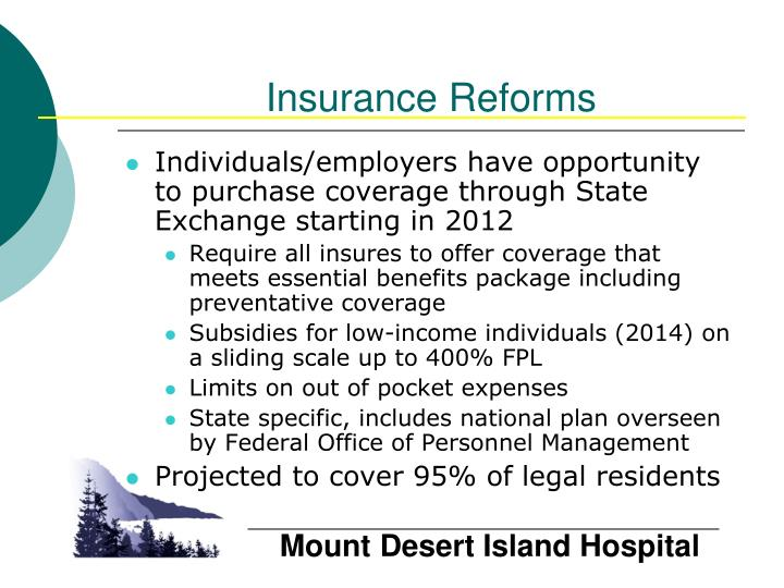 Insurance Reforms