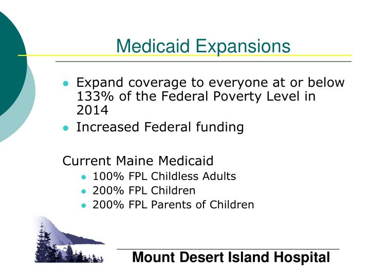 Medicaid Expansions