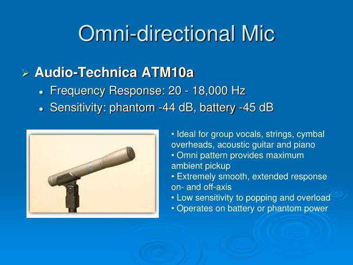 Omni-directional Mic