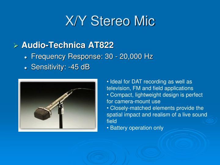X/Y Stereo Mic