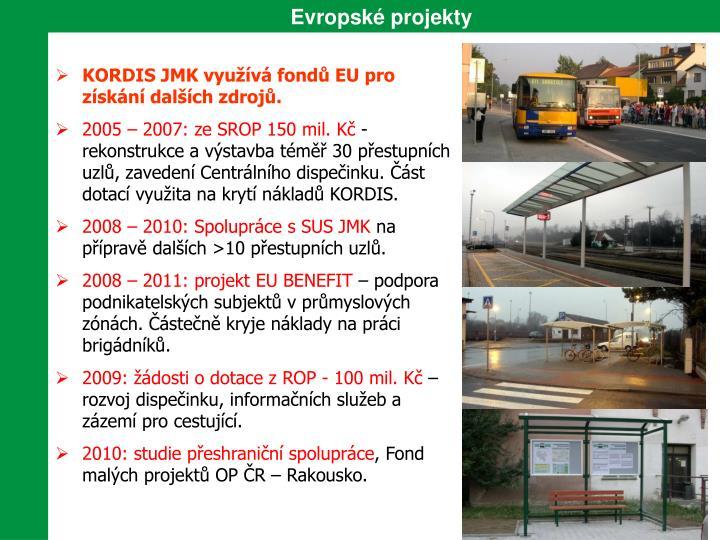 Evropské projekty