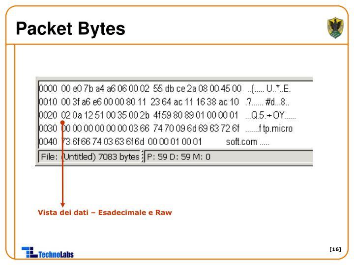Packet Bytes