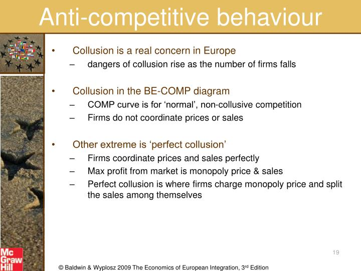 Anti-competitive behaviour