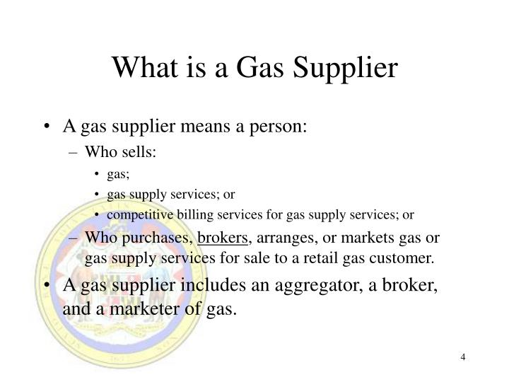What is a Gas Supplier