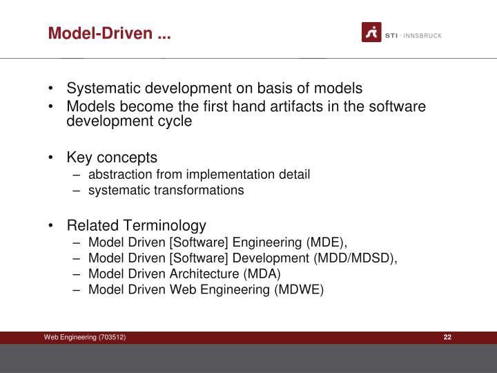 Model-Driven ...