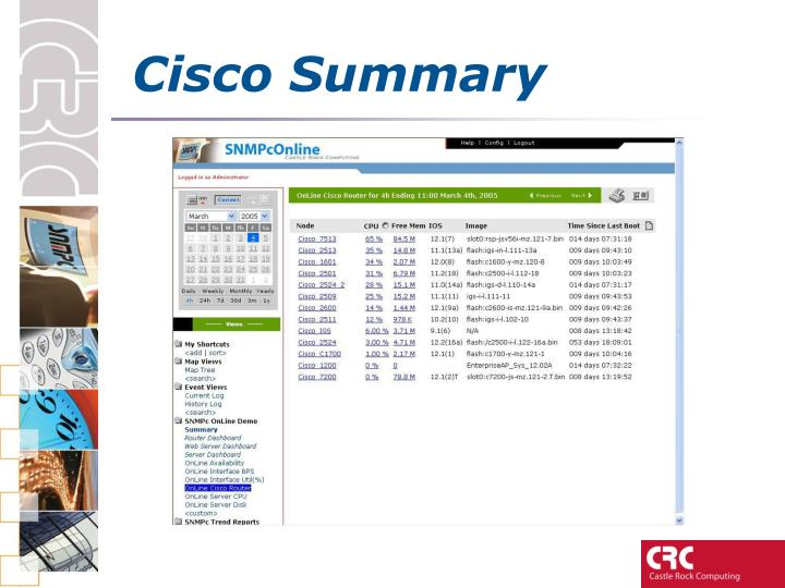 Cisco Summary