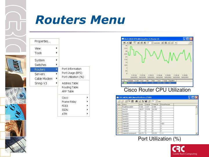 Routers Menu