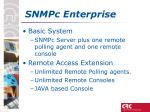 snmpc enterprise
