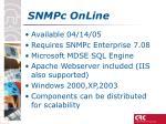 snmpc online2