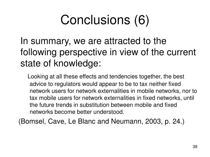 Conclusions (6)