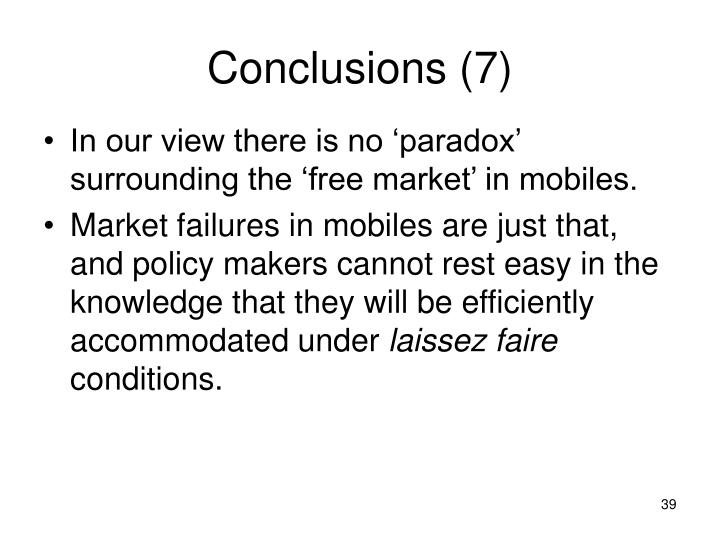 Conclusions (7)