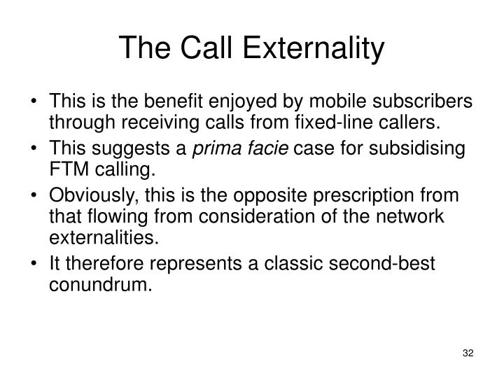 The Call Externality