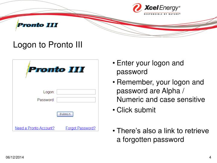 Enter your logon and password