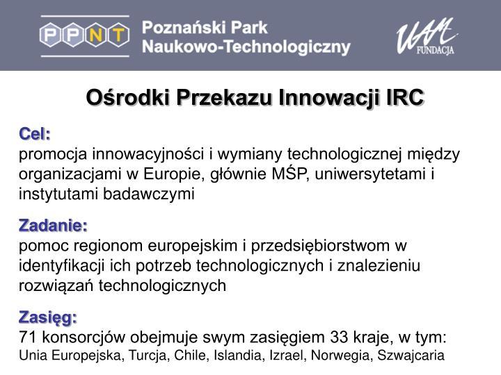 Ośrodki Przekazu Innowacji IRC