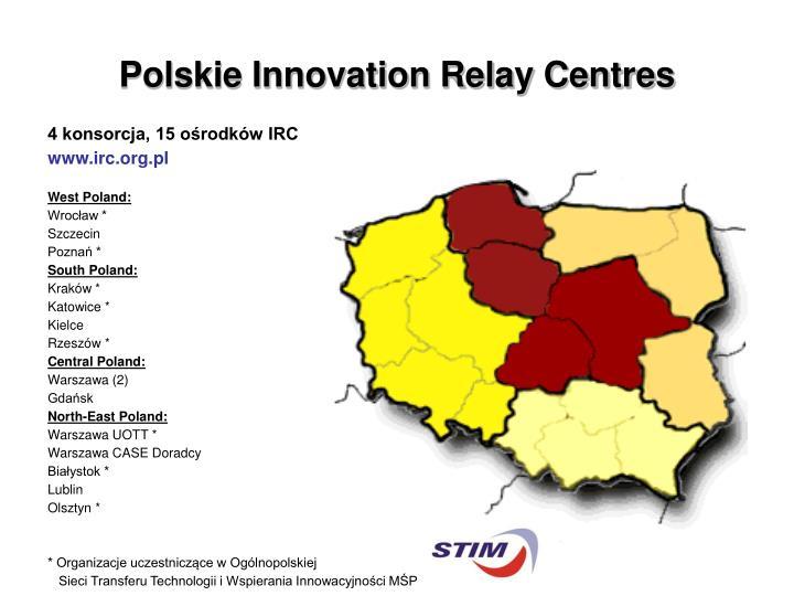 Polskie Innovation Relay Centres
