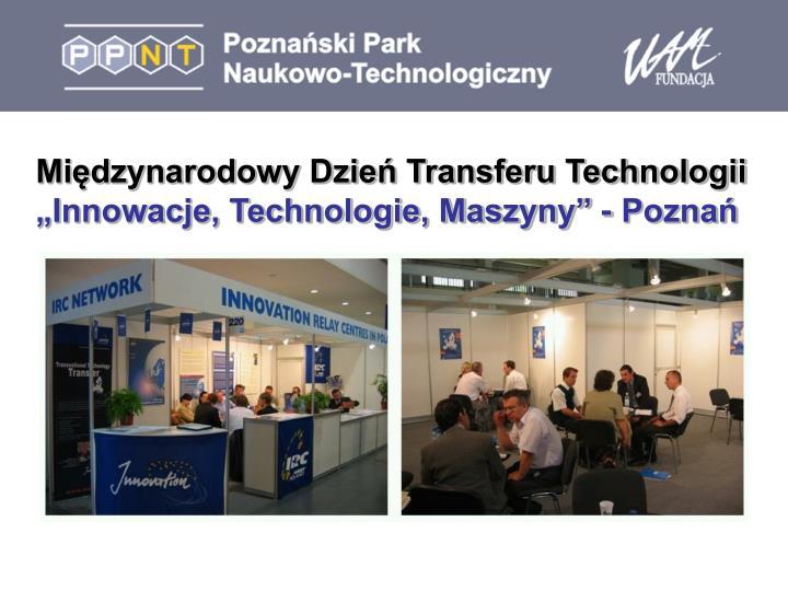 Międzynarodowy Dzień Transferu Technologii