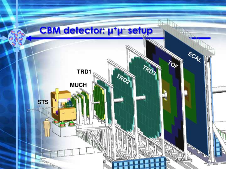 CBM detector: