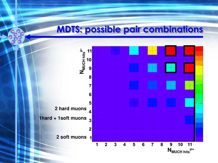 MDTS: possible pair combinations