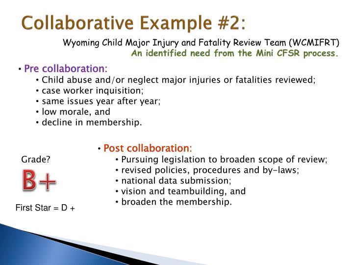 Collaborative Example #2: