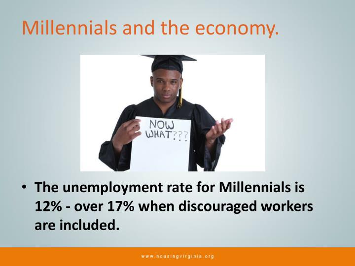 Millennials and the economy.