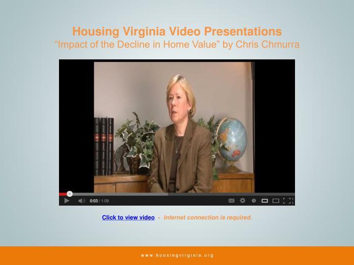 Housing Virginia Video Presentations