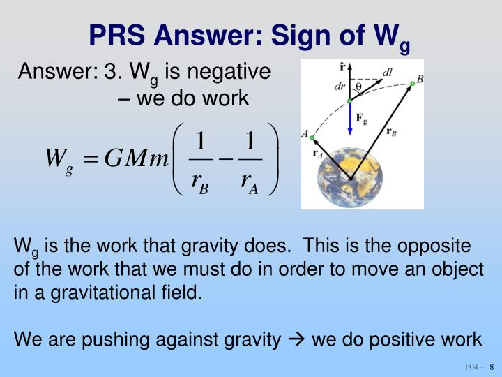 PRS Answer: Sign of W