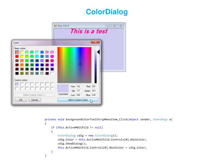 ColorDialog
