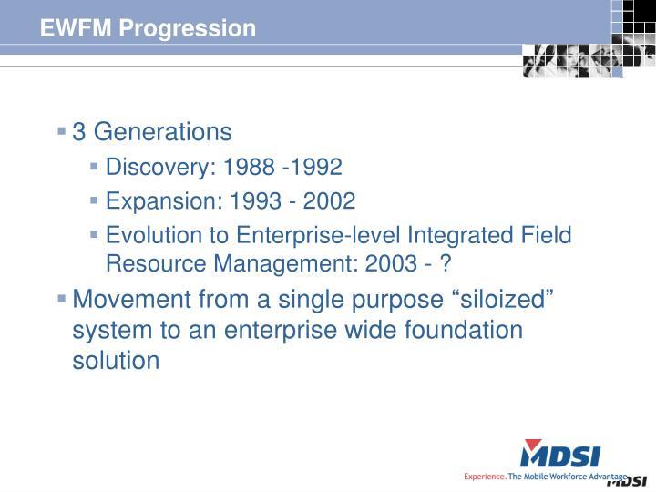 EWFM Progression