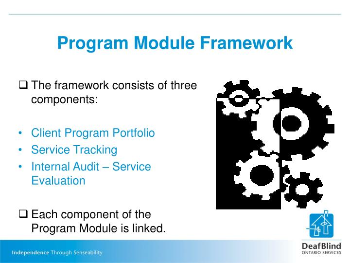 The framework consists of three components: