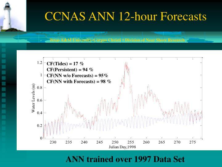 CCNAS ANN 12-hour Forecasts