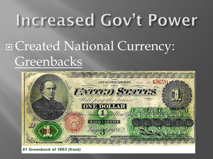Created National Currency: