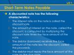 short term notes payable1