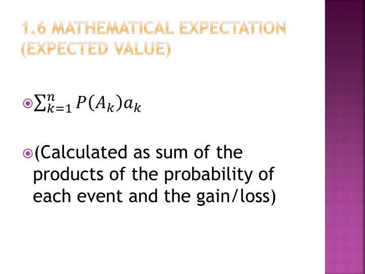 1.6 Mathematical