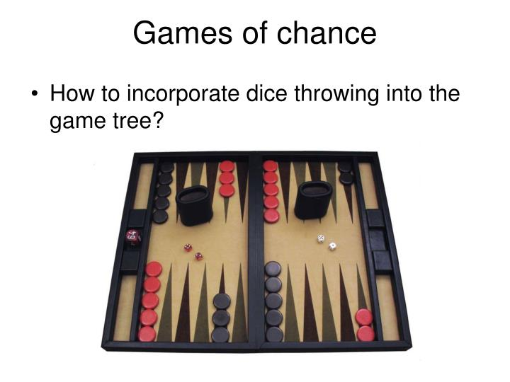 Games of chance