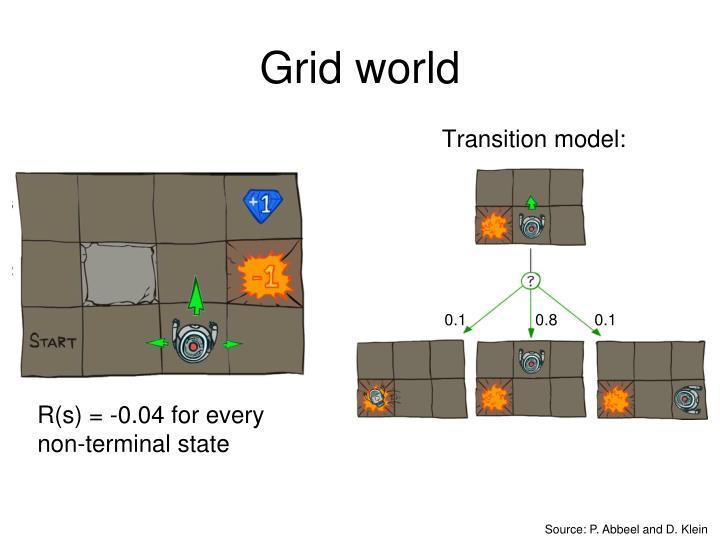 Grid world