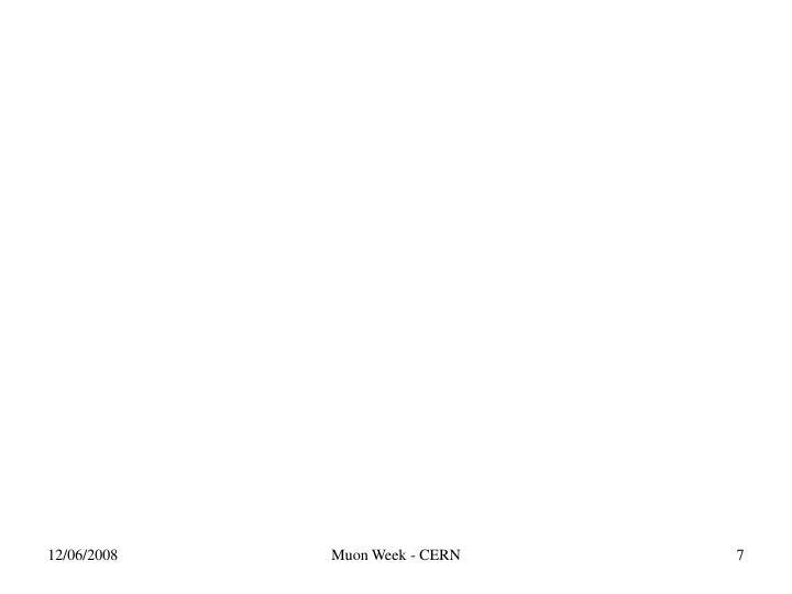 Muon Week - CERN