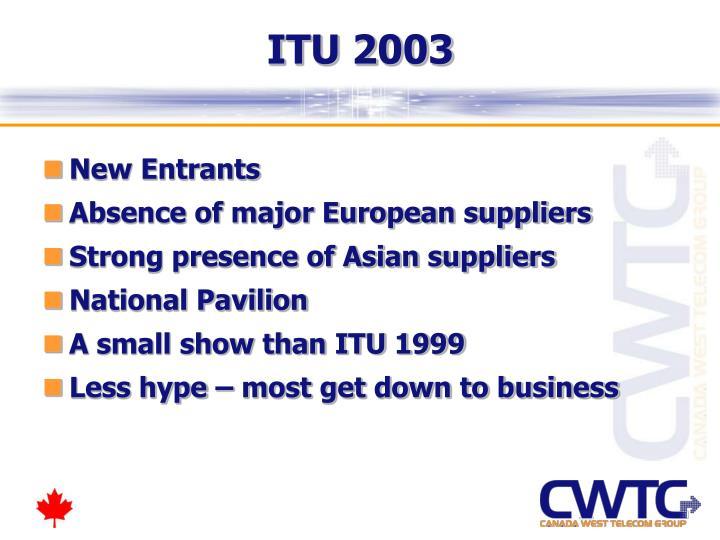 ITU 2003