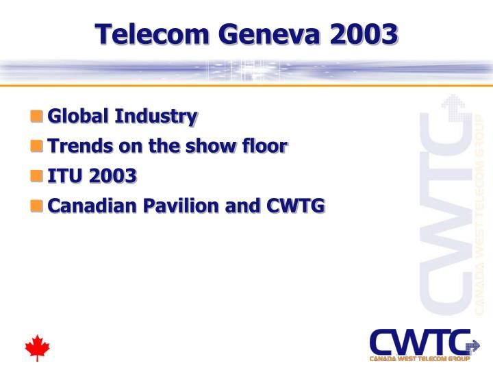 Telecom Geneva 2003