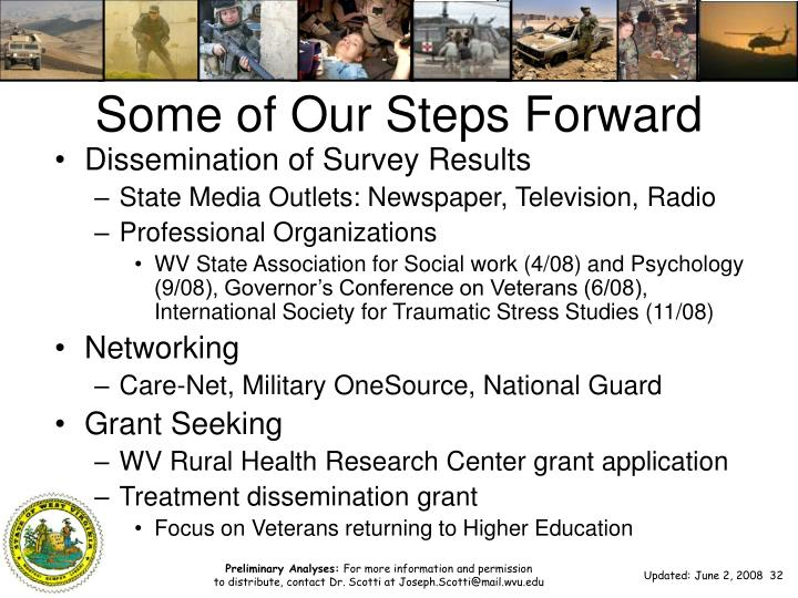 Some of Our Steps Forward