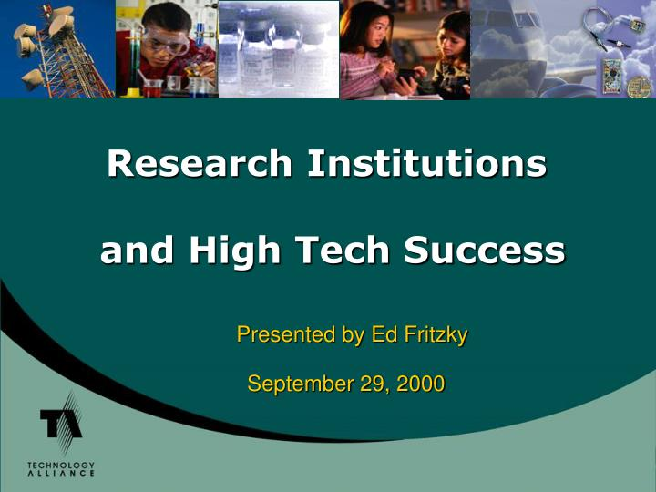 Research Institutions