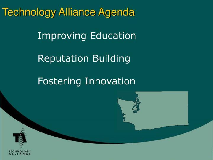 Technology Alliance Agenda
