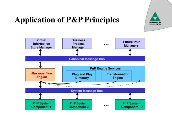 Application of P&P Principles