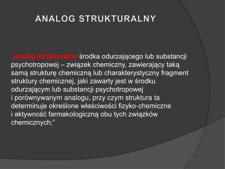 ANALOG STRUKTURALNY