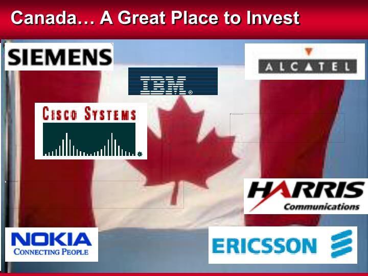 Canada… A Great Place to Invest