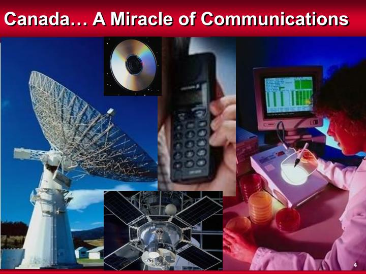 Canada… A Miracle of Communications