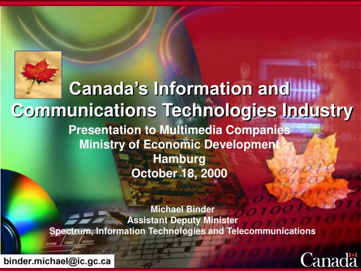 Canada's Information and