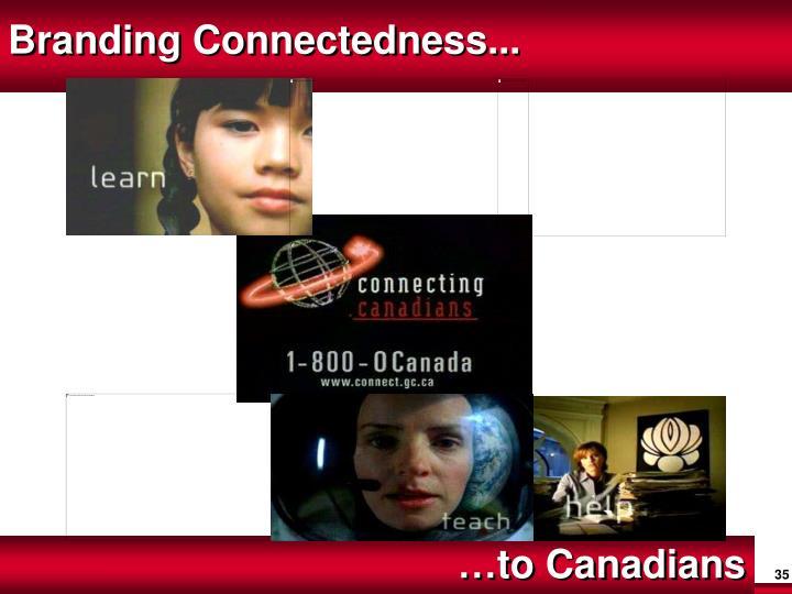Branding Connectedness...