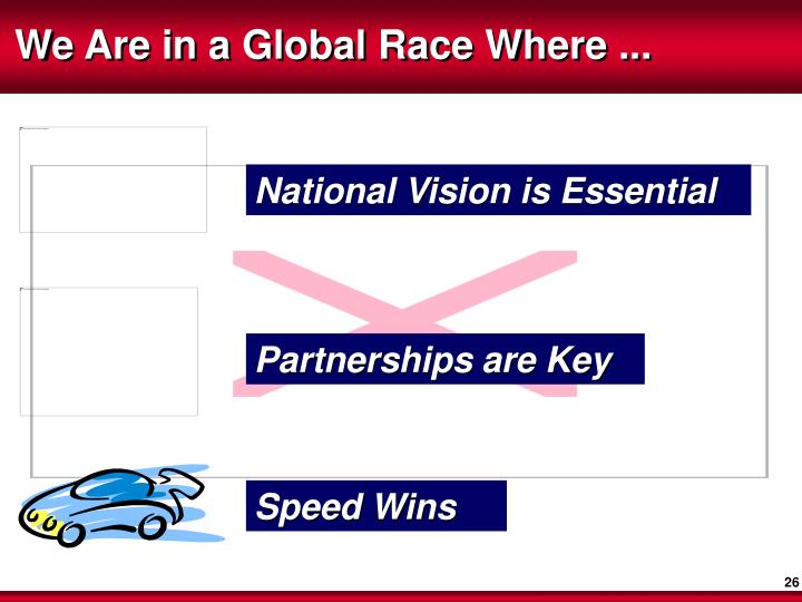 National Vision is Essential