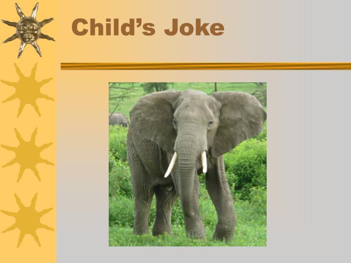 Child's Joke